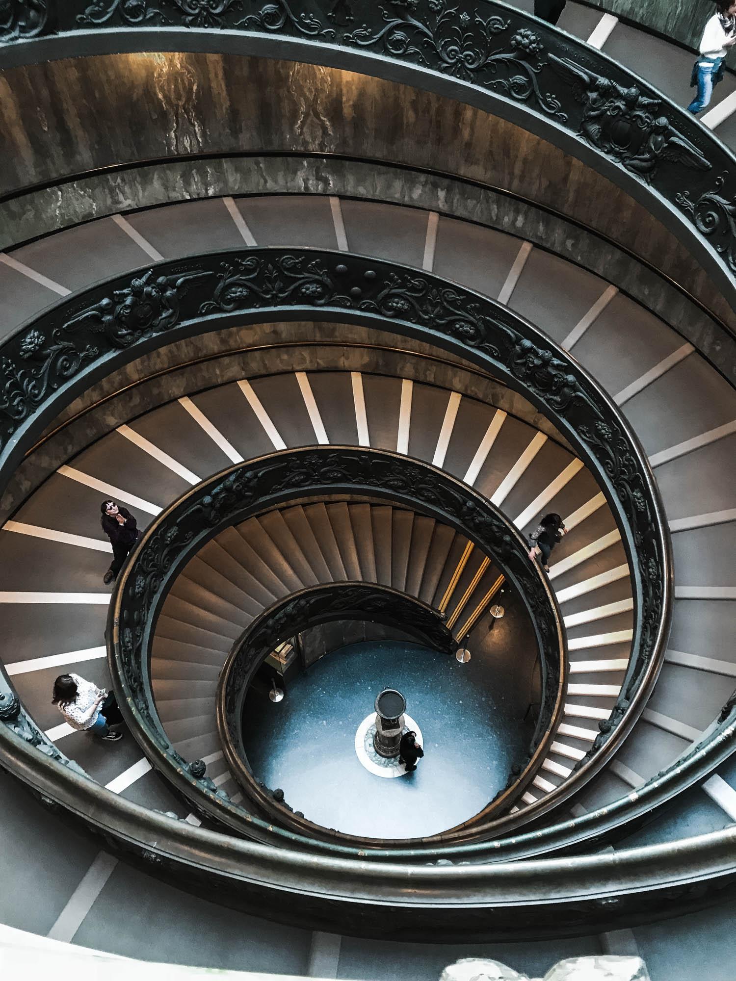 Vatican escaliers