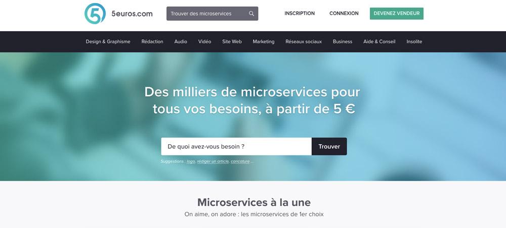 5euros micro service freelance