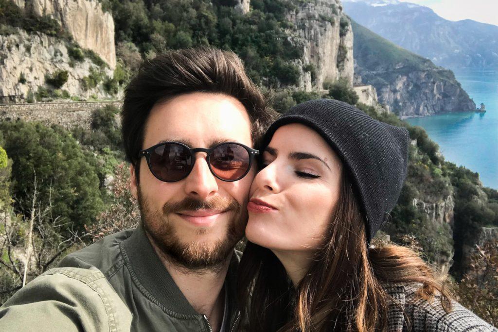 ben et mel sur la route de positano