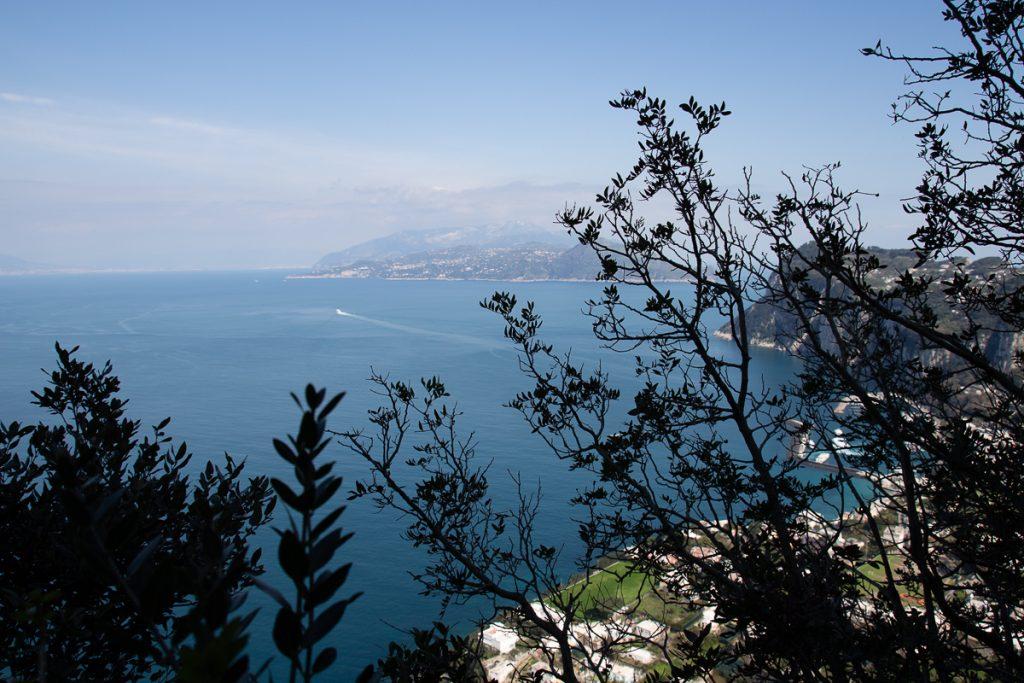 vue mer depuis anacapri
