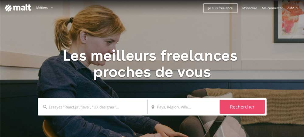 malt plateforme de freelances