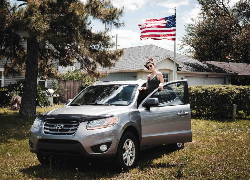 vehicule roadtrip americain